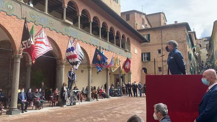Siena: Oggi 02/05 il pensiero del Sindaco De Mossi sulla ricorrenza delle FesteCateriniane