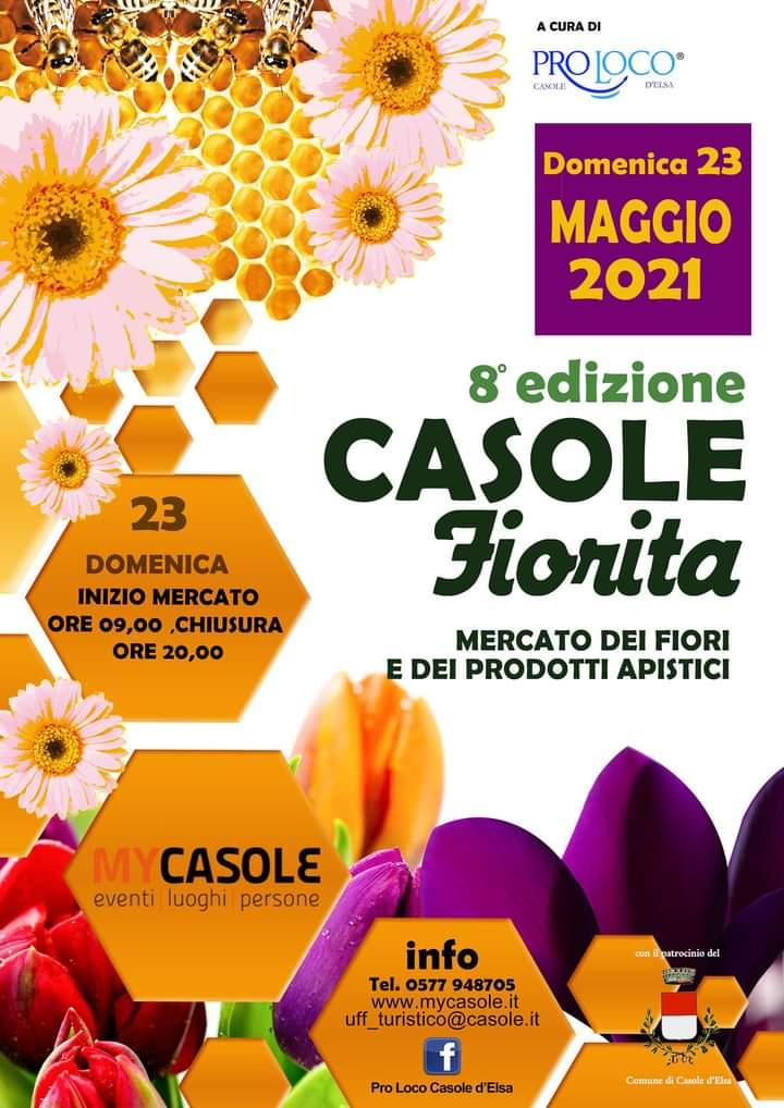 """Provincia di Siena: 23/05 """"Casole Fiorita""""2021"""