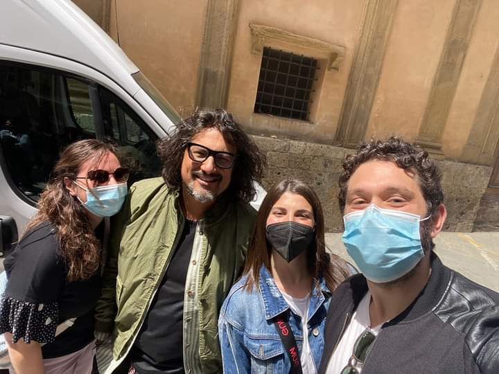 Siena: Oggi 23/05 Alessandro Borgese nella nostra città in perlustrazione per 4Ristoranti