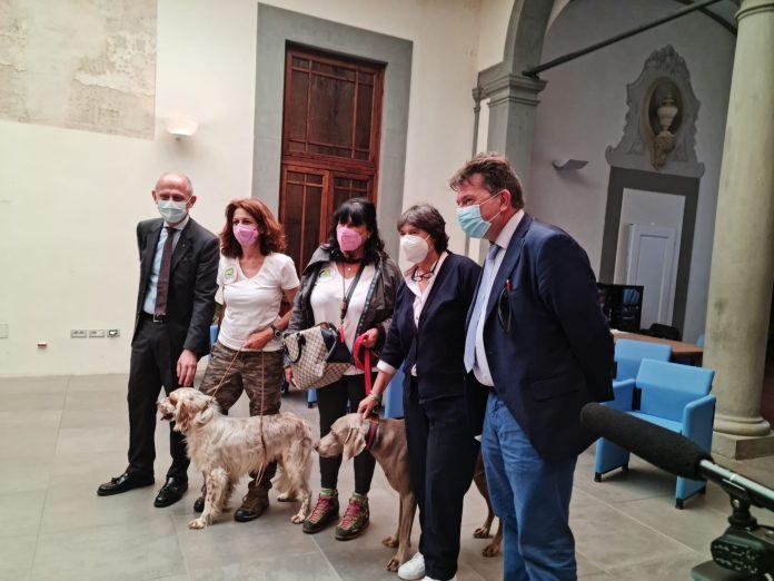 Provincia di Siena: Legalità, a Suvignano per Libera va in scena la passione di cinofilia venatoria alfemminile