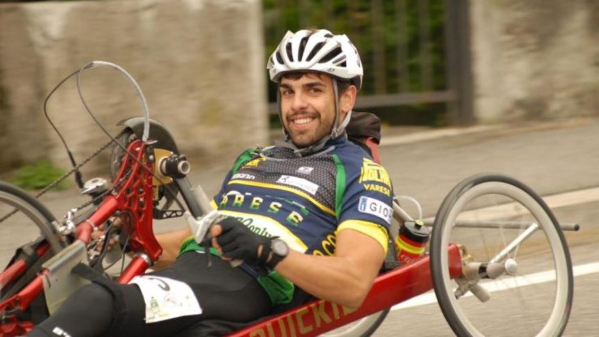 Italia: Un giovane del team di Zanardi investito mentre si allenava con la suahandbike