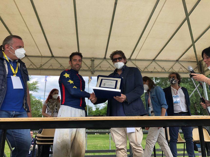 Palio di Siena: Anche Fucecchio rende omaggio ad AndreaMari