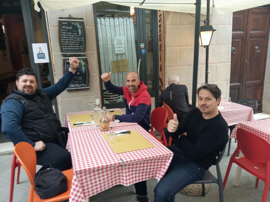 Massi Lo Sà, Sponsor: Oggi 11/05 l'ex capitano del Siena Pepi per pranzo ha scelto Fischi perFiaschi