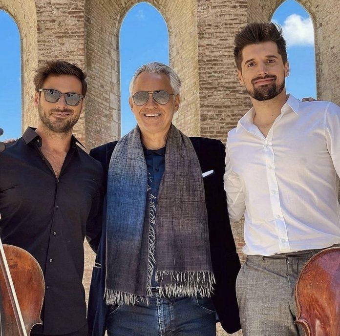 Provincia di Siena: Andrea Bocelli e i 2Cellos insieme all'Abbazia di SanGalgano