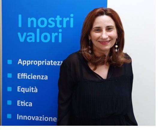 Toscana: La dottoressa D'Amato direttore dell'Uoc Appropriatezza dei percorsi diagnostico, terapeutici, assistenziali,riabilitativi