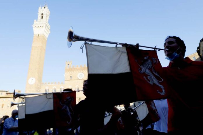 Palio di Siena, Palii 2021: Annullata la Carriera di luglio, rimane la possibilità peragosto