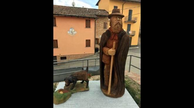 Palio di Asti: A Montechiaro d'Asti una scultura dedicata aitrifolau