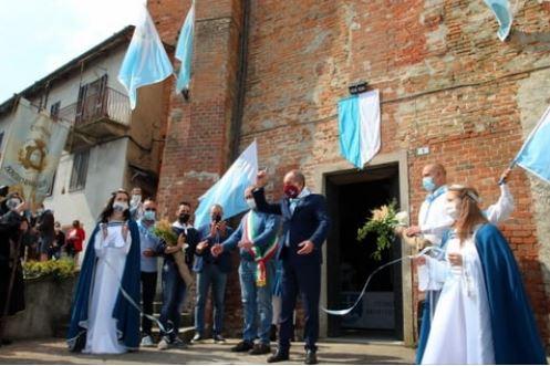 Palio di Asti, Comitato Palio Montechiaro: Resoconto su Inaugurazione nuova Sede e passaggio Giro d'Italia di ieri09/05