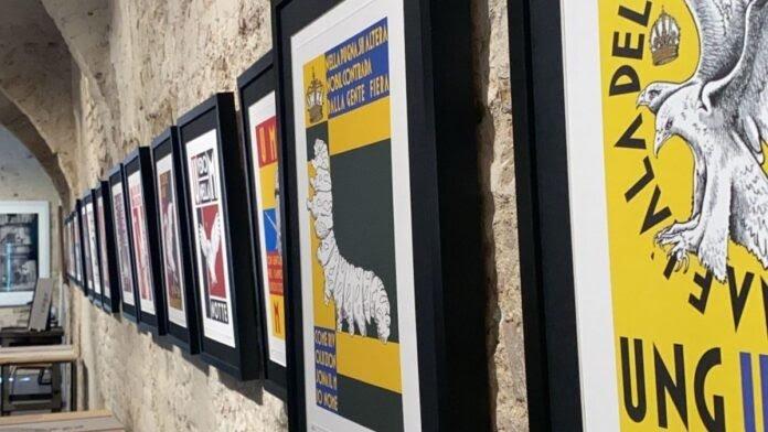 Siena: Presentate le stampe con gli stemmi delle Contrade realizzate da RiccardoManganelli