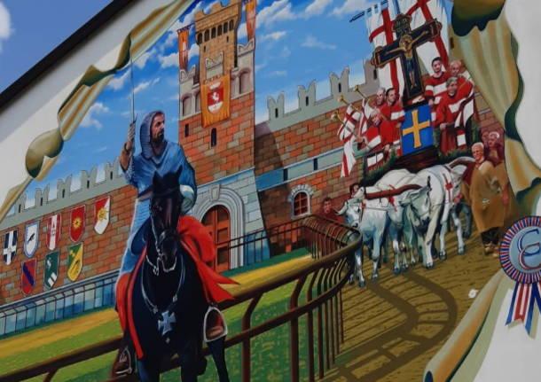 Palio di Legnano: Un gigantesco murale per l'anniversario della battaglia diLegnano