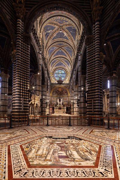 Siena: Giovedì 30 settembre apertura straordinaria serale del Pavimento del Duomo diSiena