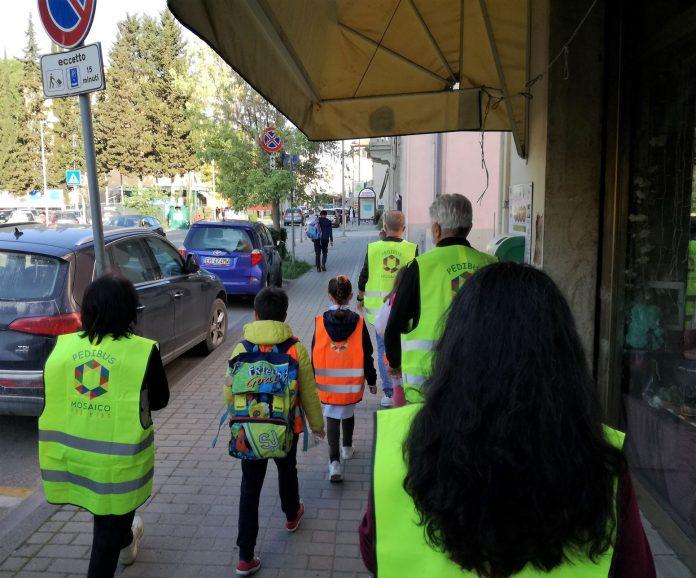Provincia di Siena: Poggibonsi: Pedibus, è partita la linea 'apripista' per laCalamandrei