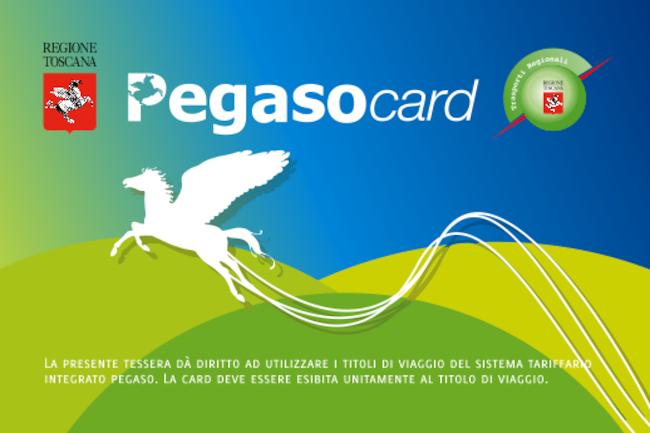 Toscana: Carta Pegaso, anche nel 2021 rinnovo gratuito per i pendolaritoscani
