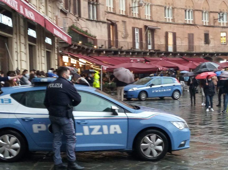 """Siena: Oggi 01/05 Primo maggio in zona gialla, fra """"movida"""" econtrolli"""