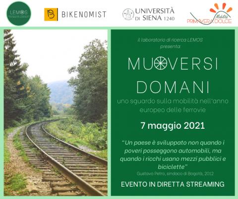 Siena: 'Muoversi domani', il convegno Lemos su mobilità sostenibile everde