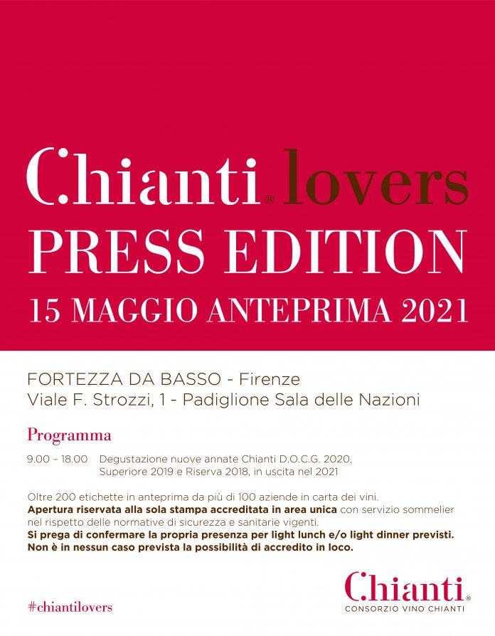 """Toscana, Chianti Lovers', l'anteprima 2021 lancia un messaggio: """"Il mondo del vino non siferma"""""""