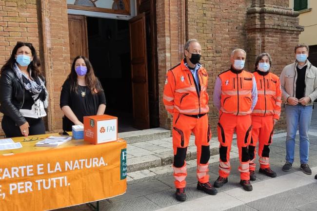 Provincia di Siena: Successo per le Giornate FAI di Primavera aRadicondoli