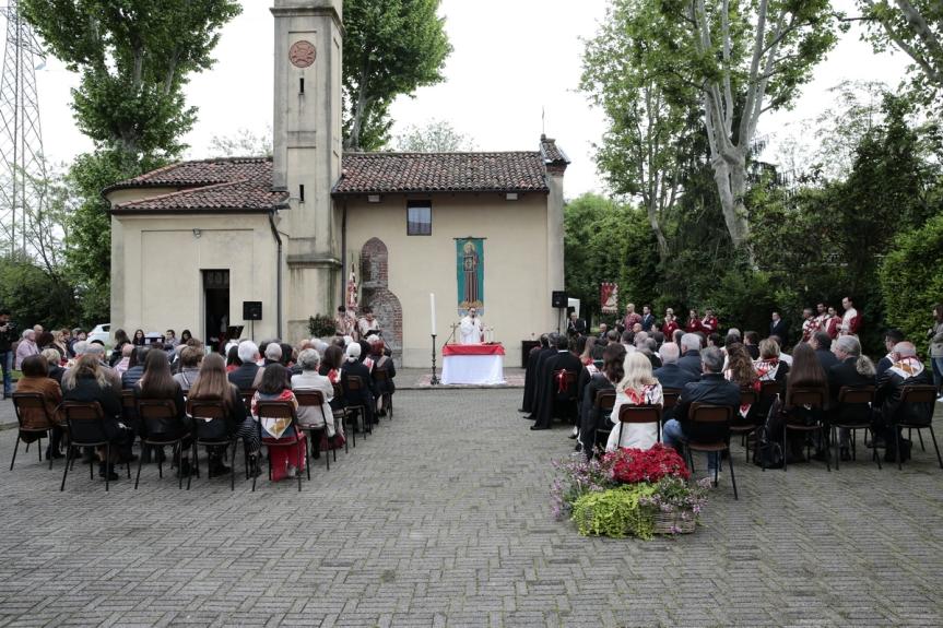 Palio di Legnano, Contrada San Bernardino:  La Cerimonia della Promessa torna inChiesetta