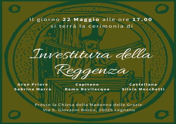 Palio di legnano, Contrada Sant'Ambrogio: Al Santuario di Legnano l'Investitura dellareggenza