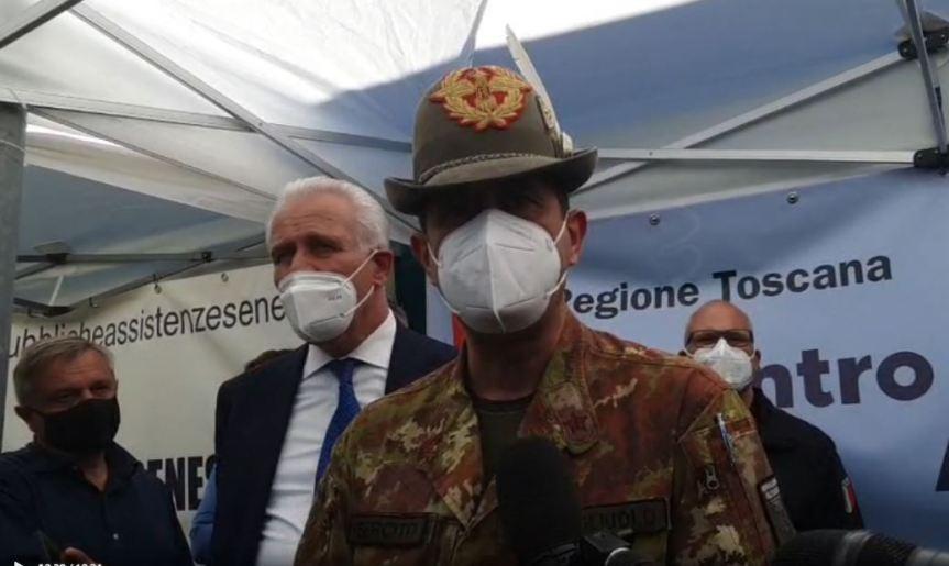 Siena: Oggi 19/05 Il Generale Figliuolo in visita alla nostracittà