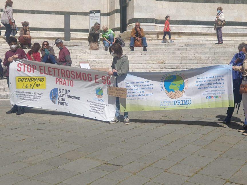 Siena: Le associazioni ambientaliste e i comitati del territorio senese in piazza contro il5G