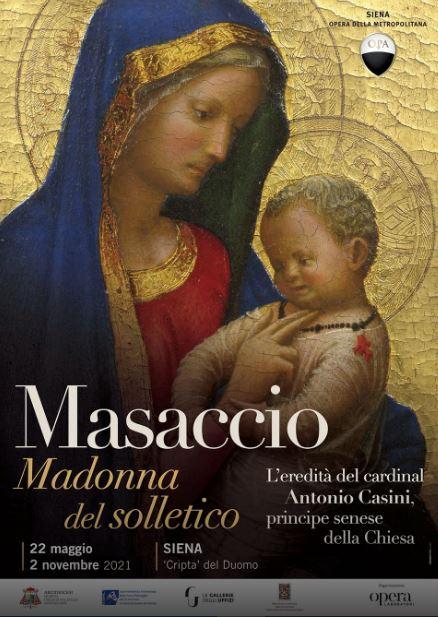 Siena: La Madonna del Solletico di Masaccio inmostra