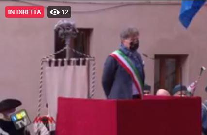 """Siena, Santa Caterina, De Mossi: """"E' un giornata speciale, rito che va oltre il singolo ruolo diognuno"""""""