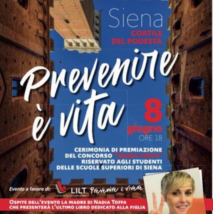 """Siena, """"Prevenire è vita"""": Lilt, Rotary Montaperti e Guardia di Finanza insieme per il concorso intitolato a NadiaToffa"""