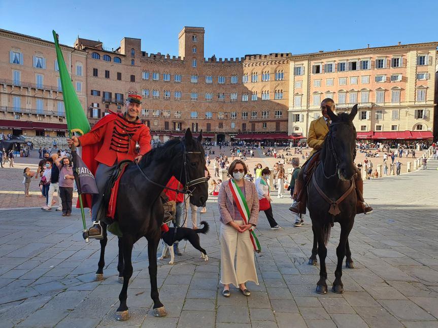 Siena: Anche nella nostra città ieri 30/05 è transitata la StaffettaGaribaldina