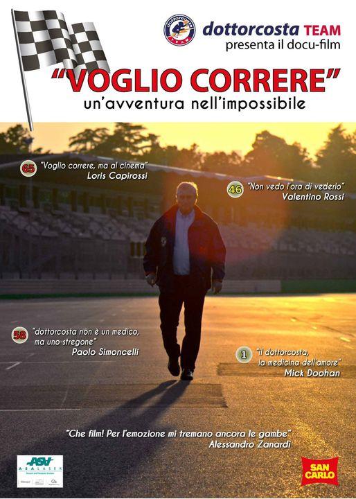 """Siena, Esce """"Voglio correre!"""", il film sulla vita della Clinica Mobile: C'è Andrea Mari in unascena"""