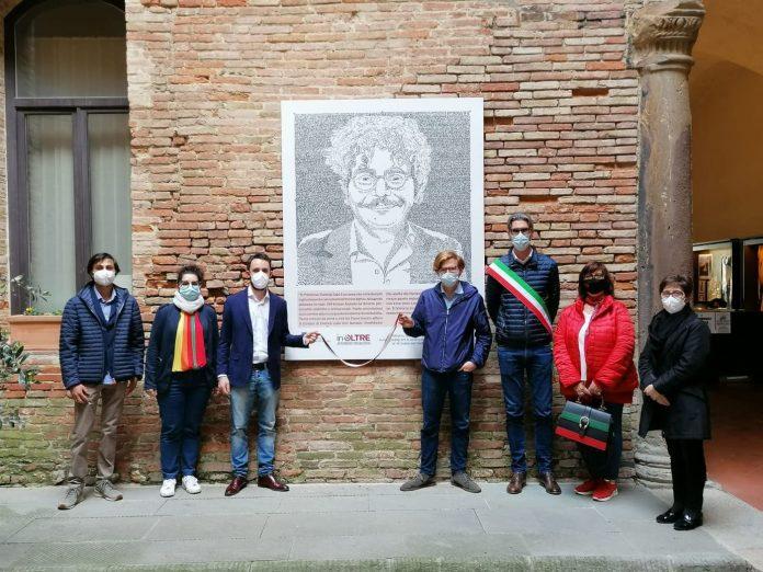 Provincia di Siena: Esposto il ritratto di Patrick Zaki aMontepulciano
