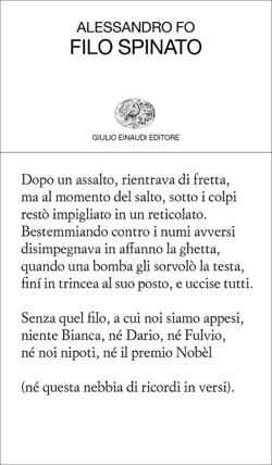 """Provincia di Siena, A Poggibonsi l'iniziativa dell'associazione """"La Scintilla"""": Alessandro Fo presenta le poesie di Filospinato"""
