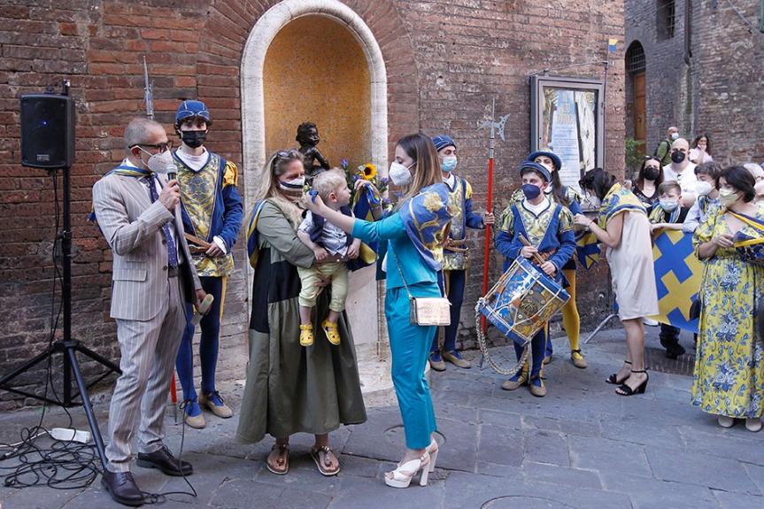 Siena, Contrada della Tartuca: I battezzati2021