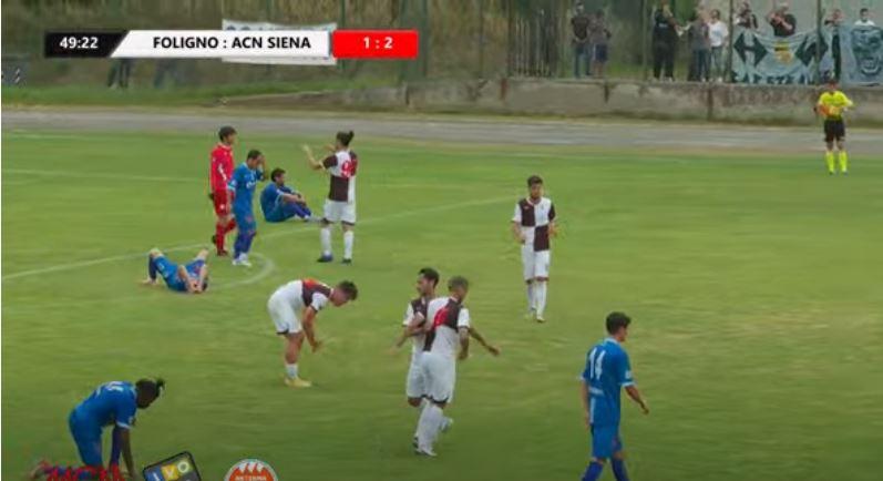 Siena, Acn Siena: Il Siena supera il Foligno 1-2 e torna allavittoria