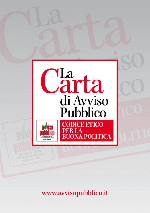 Toscana: Carta di Avviso Pubblico, approvata mozione che ne chiede lasottoscrizione