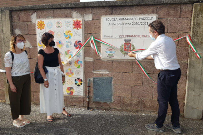 """Provincia di Siena: """"Coloriamo il paese"""" iniziativa del Comune di Buonconvento con gli alunni della scuola primaria dell'istituto Insieme"""