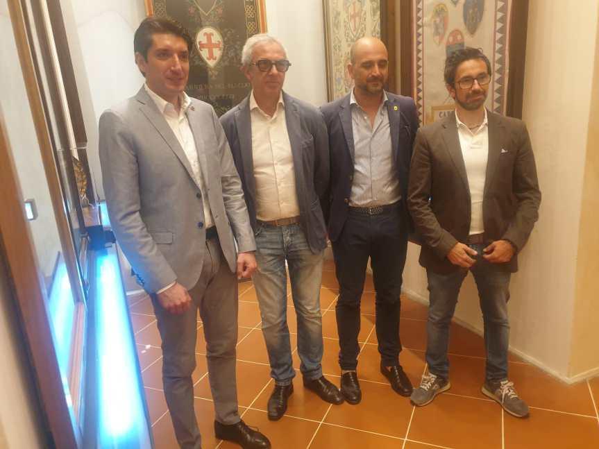Siena; Chiocciola, il Palio del 1882 restaurato nel ricordo di LorenzoFiorai