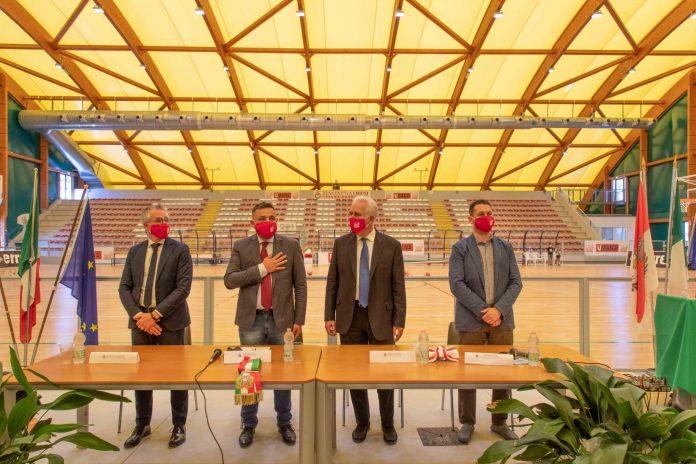 Provincia di Siena: Chiusi, inaugurato il nuovo Palasport in localitàPania