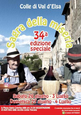 """Provincia di Siena: A Colle di Val d'Elsa la 34ª edizione della """"Sagra dellaMiseria"""""""