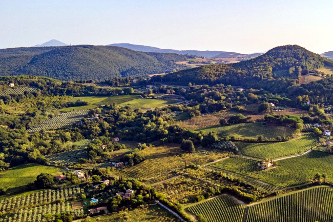 Provincia di Siena: Le colline di Pienza e Montepulciano riconosciute Paesaggiostorico