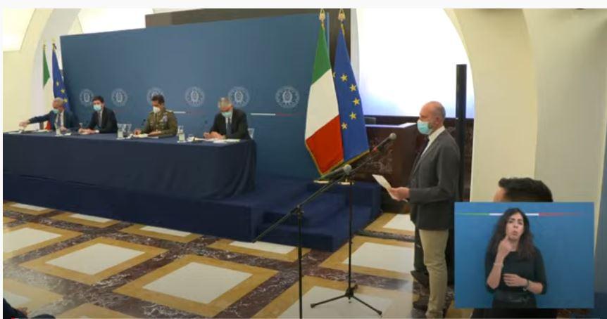 Italia, Covid-19: Conferenza stampa su campagna vaccinale e andamento epidemiologico con Speranza, Figliuolo, Locatelli eBrusaferro