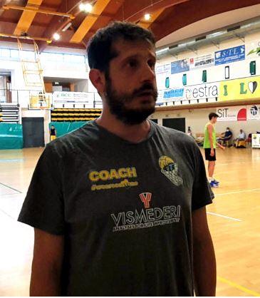 """Siena, Vismederi Costone, coach Fattorini: """"Stiamo crescendo, ma il lavoro da fare è sempretanto"""""""