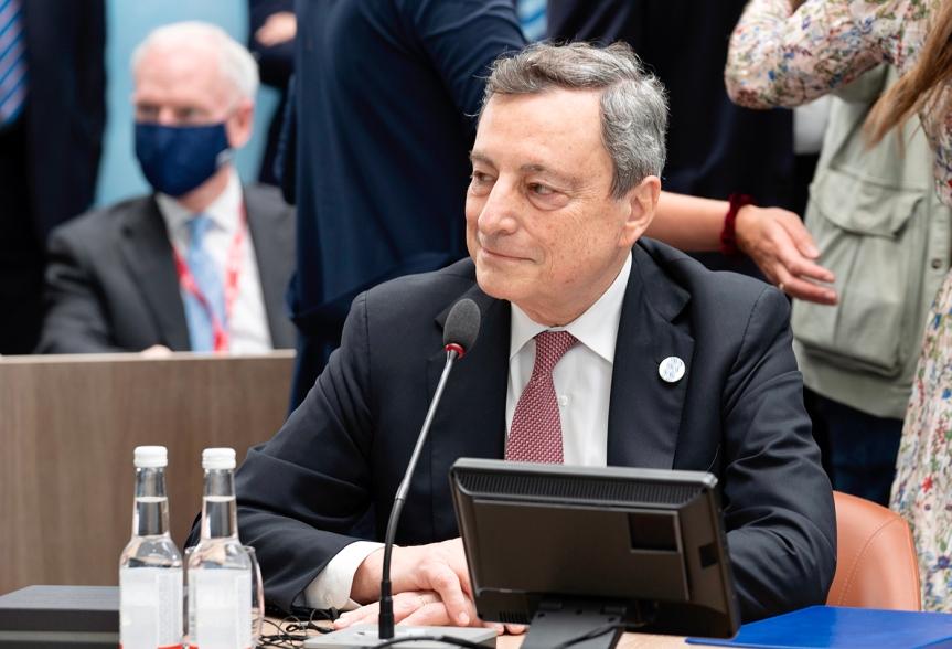 Italia: Il Presidente Draghi al VerticeG7