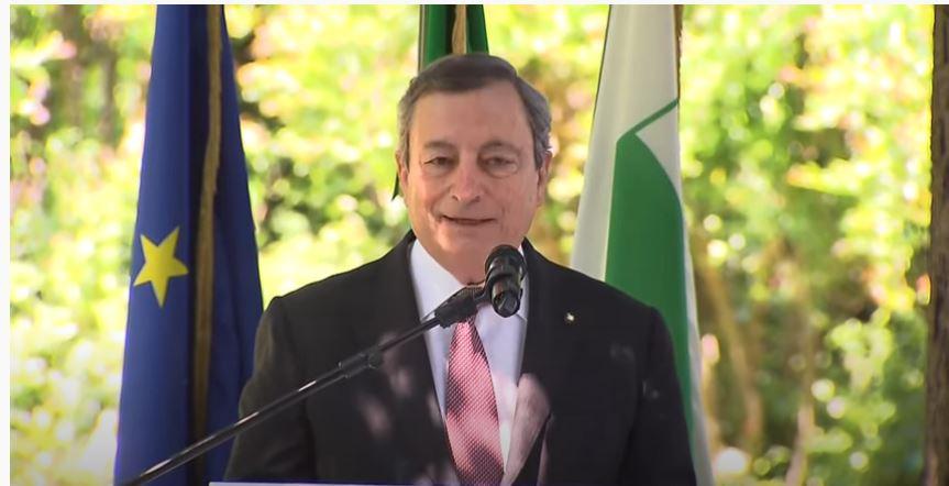 italia: Il Presidente Draghi in visita in EmiliaRomagna