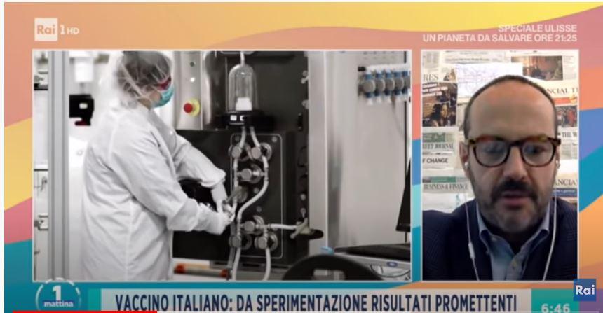 Siena: Il professor Montomoli è stato intervistato aUnomattina