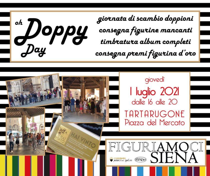 """Siena, """"Figuriamoci Siena"""", torna il Doppy day: In Piazza del Mercato una giornata per scambiarsi idoppioni"""