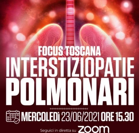 "Toscana, Motore Sanità presenta il webinarFocus: ""Interstiziopatie polmonari"""