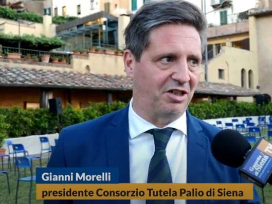 """Palio di Siena, Palio che non c'è, Morelli (Consorzio): """"Non perdiamo l'abitudine a vivere laContrada"""""""