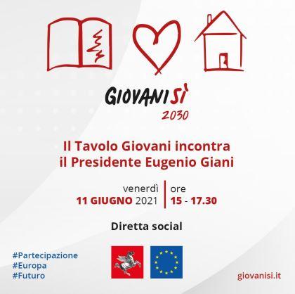 Toscana: Oggi 11/06 Il tavolo GiovaniSì incontra EugenioGiani