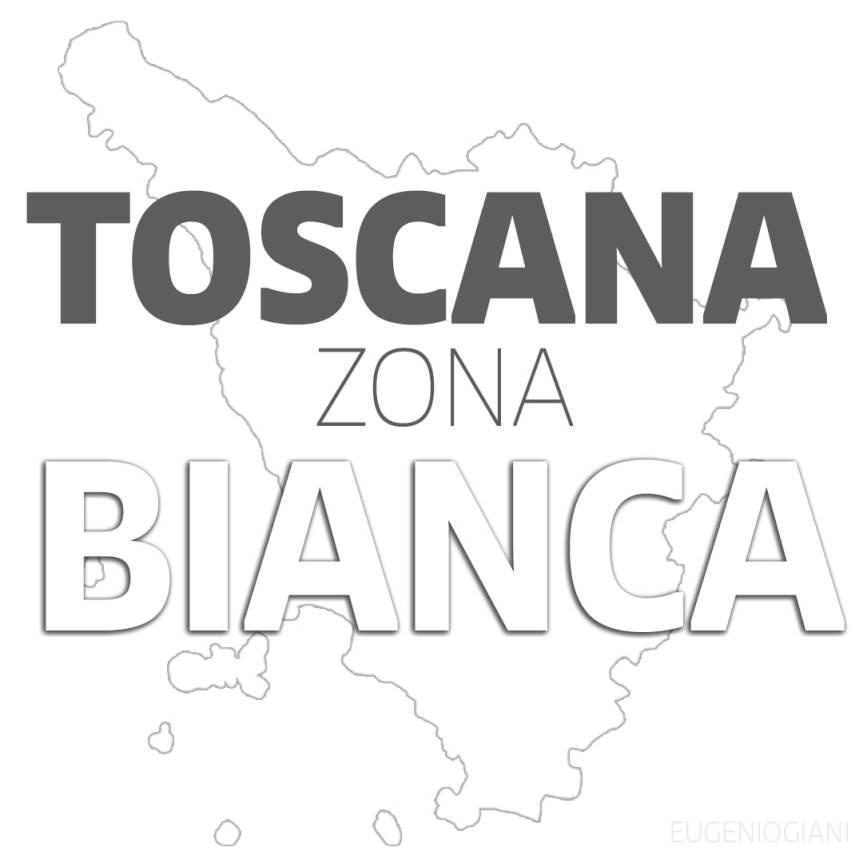 Toscana: Da lunedì 21/06 Regione ufficialmente in ZonaBianca
